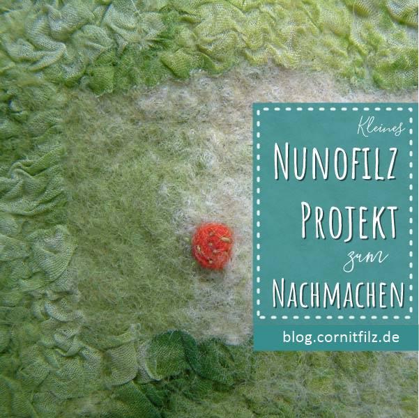 Beutelchen mit Nunofilzen Pin