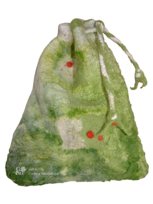 Nunofilz-Beutelchen mit Zugband