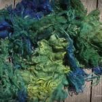 Rohwolle zum Färben