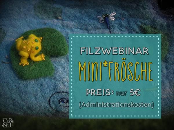 Filzfrosch Webinar