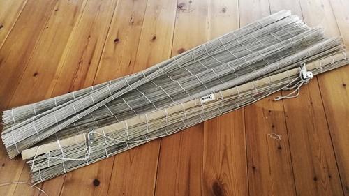 Bambusrollo als Filzunterlage